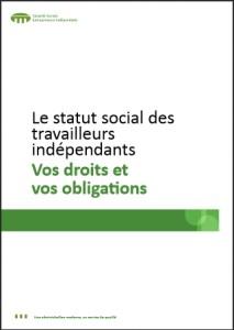 Statut social du travailleur indépendant: Vos droits et vos obligations