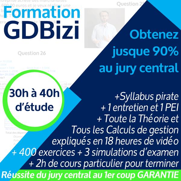 Formation en ligne réussite garantie GdBizi
