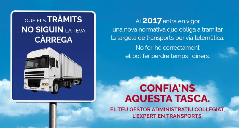 Gestión de autorizaciones de transporte