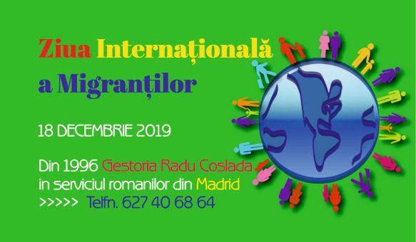 Ziua internationala a migrantilor cu aproape 10 milioane de români peste granițe