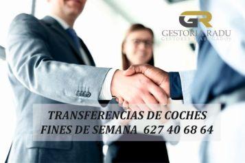 Transferencia de coches fin de semana Madrid