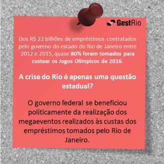 crise é questão estadual