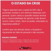 Estado da crise - Mauro Osório