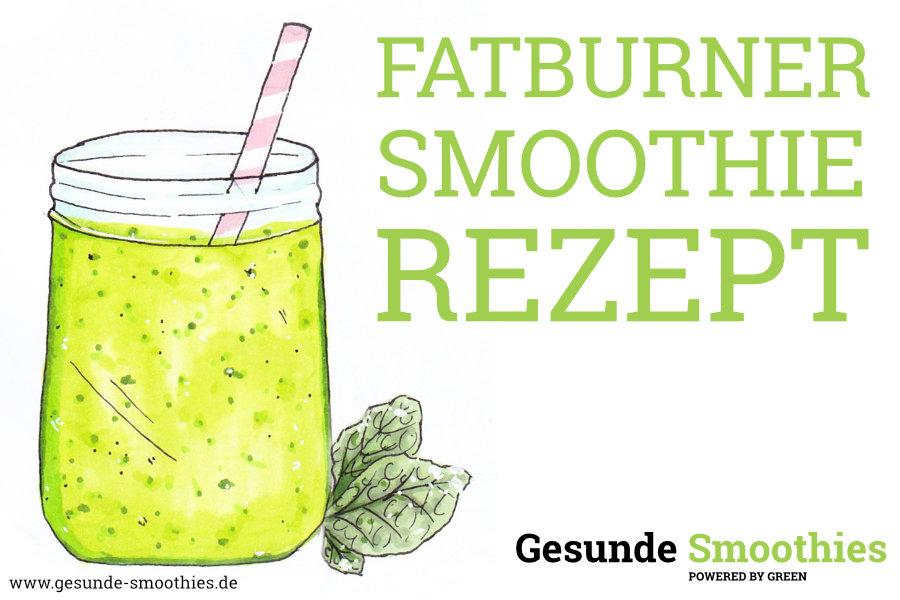 Fatburner Smoothie zum abnehmen