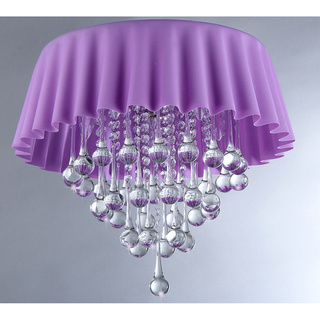 Lavender Curtin Crystal Chandelier