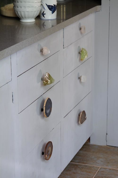Dresser full of knobs