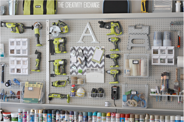 Garage Peg Board