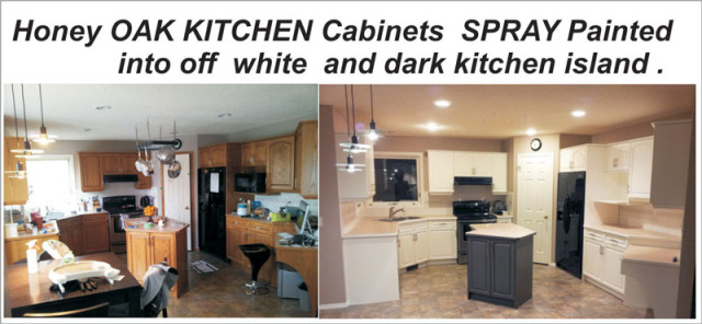 KITCHEN Painting cabinets