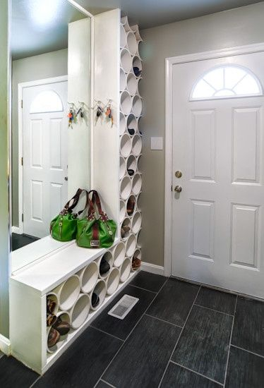 entrance shoe storage
