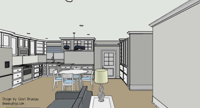 Planning out a kitchen