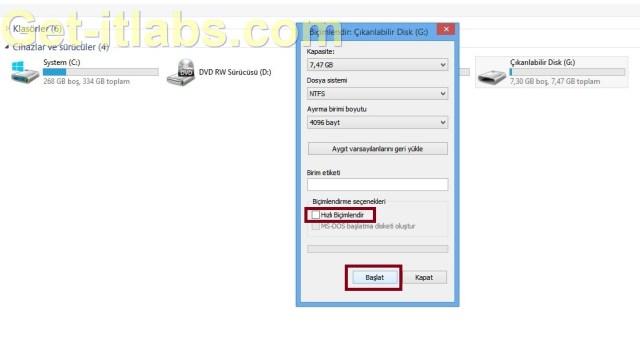 External HDD Format 2