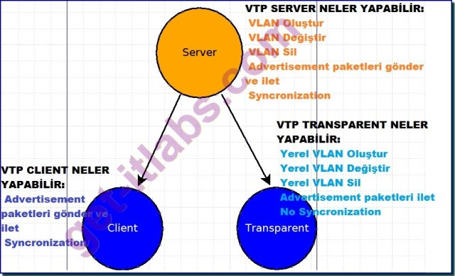 VTP Server Client Transparent Mods