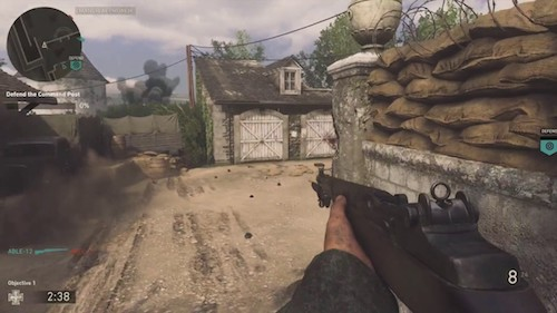 Call of Duty WWII OS X