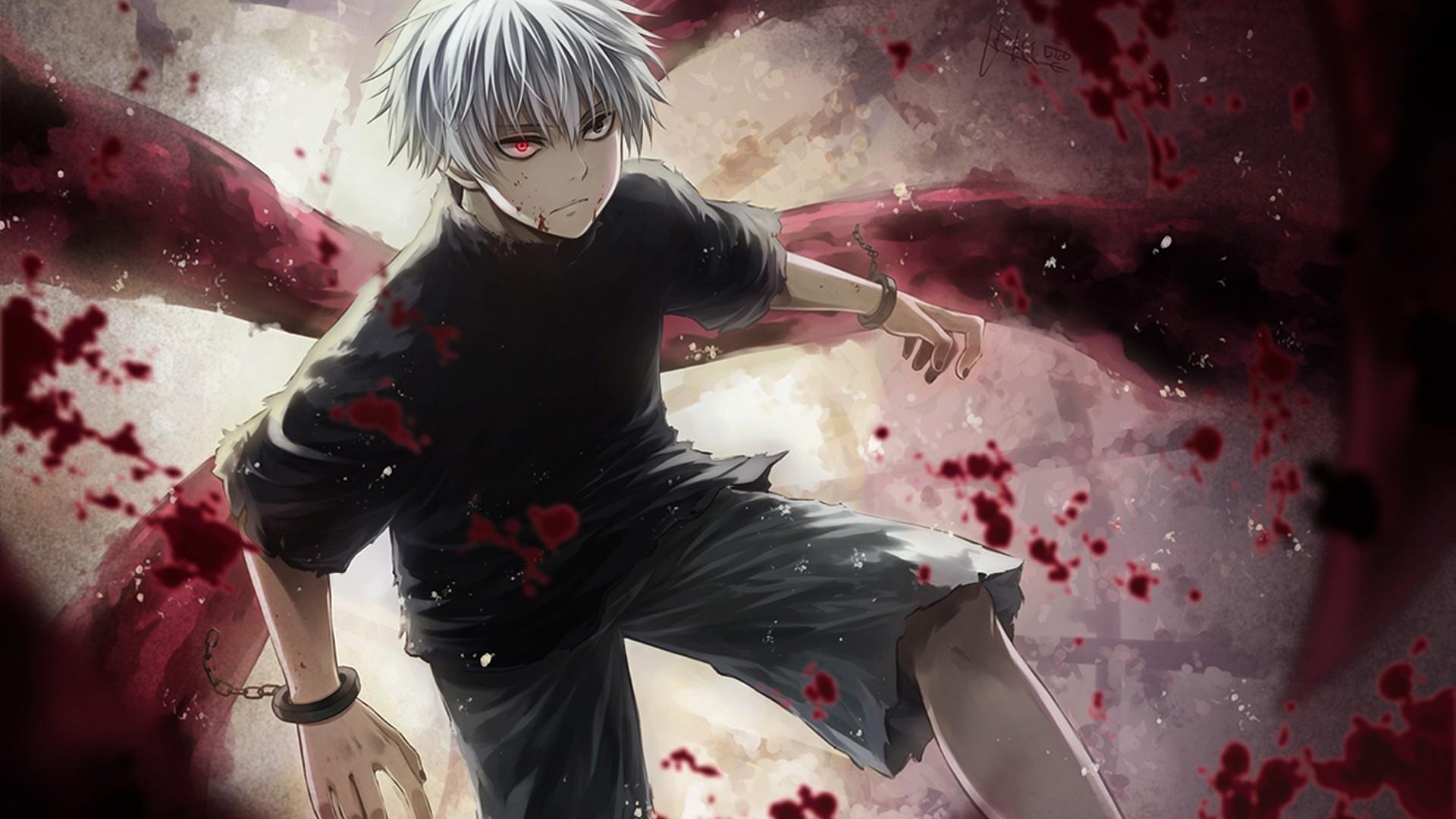Ken kaneki wallpaper, tokyo ghoul, kaneki ken, hd wallpaper · pc(720p, 1080p, 2k, 4k,8k): Wallpaper : anime, Kaneki Ken, Tokyo Ghoul, screenshot ...