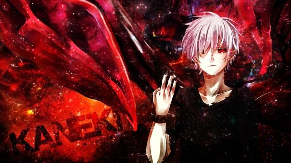 Wallpaper : anime, red, Kaneki Ken, Tokyo Ghoul, computer ...