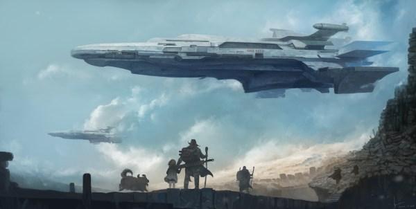 Wallpaper : fantasy art, futuristic, vehicle, artwork ...