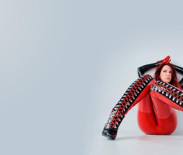 Red Toy Bianca Beauchamp Shoe Footwear Figurine