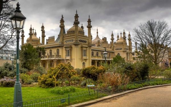 обои : royal pavilion, Брайтон, Англия, замок, архитектура ...