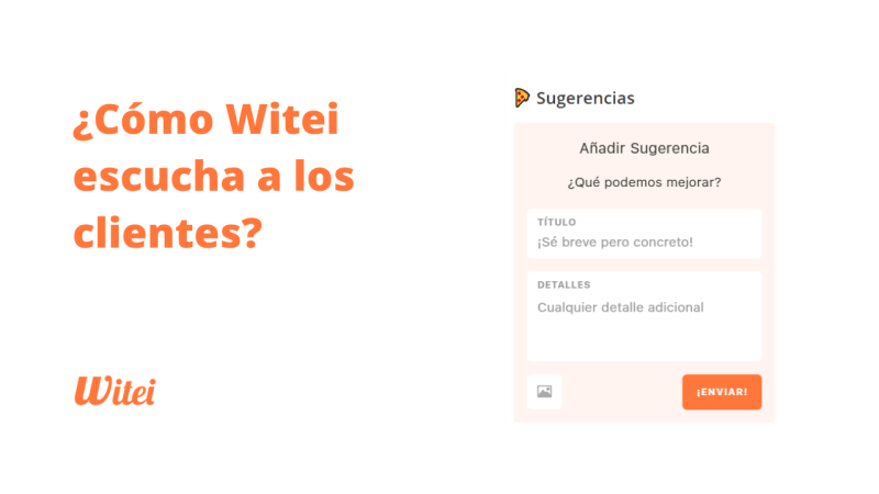 ¿Cómo Witei escucha a los clientes?