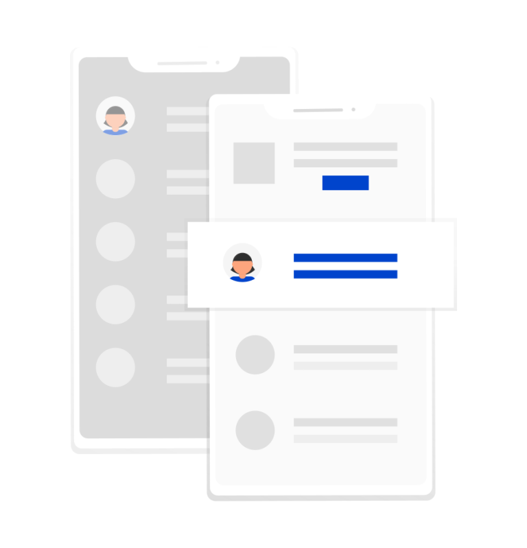 base de datos clientes responsive