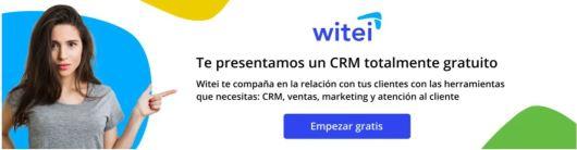 Conoce el CRM de Witei. Witei tiene herramientas de ventas, marketing y atención al cliente.