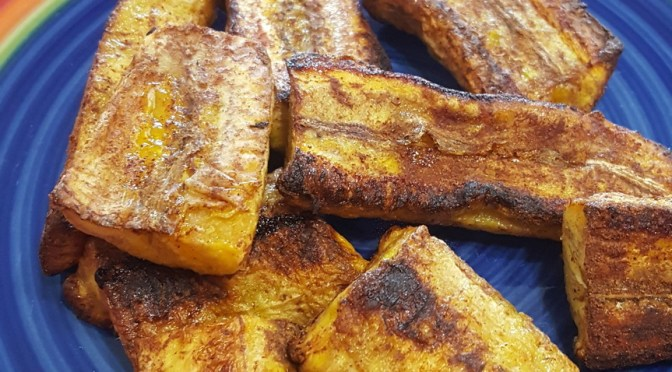 Cinnamon Apple Plantain