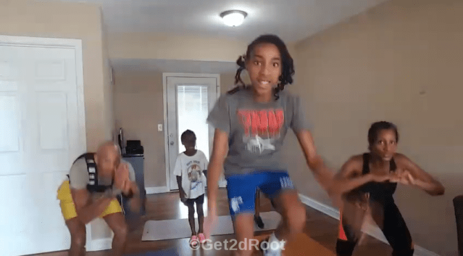 HIIT LIVE Vol. 15:  Family Workout – Round Robin Challenge