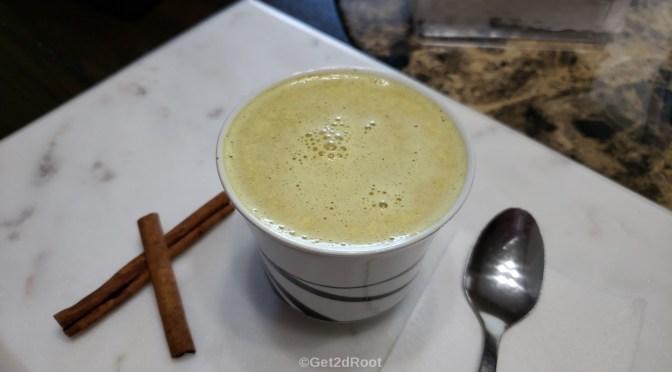 SPICED GREEN TEA LATTE