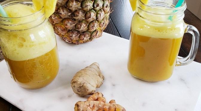 Kickin' rooty fruity drink