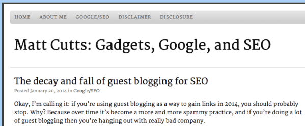 guest blogging is dead