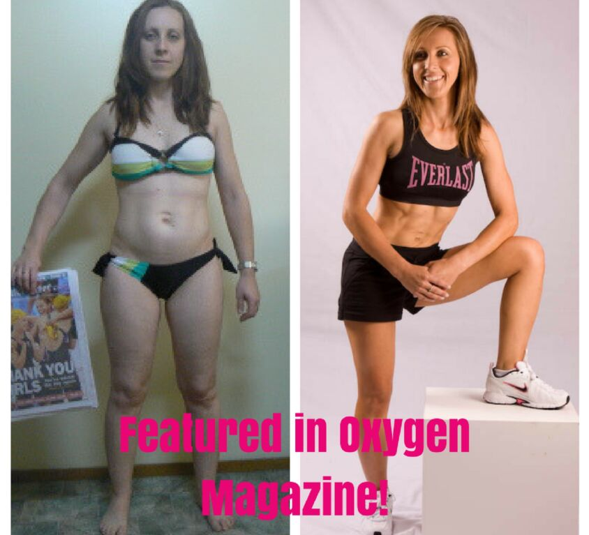Cassie Stickland before & after pic