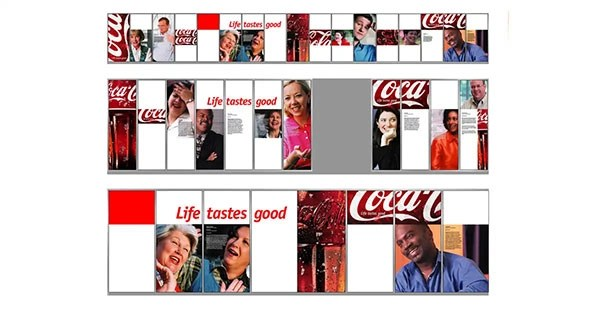 Coca Cola Global HQ Display – Graphic Design/Production Setup For Jack Morton Worldwide