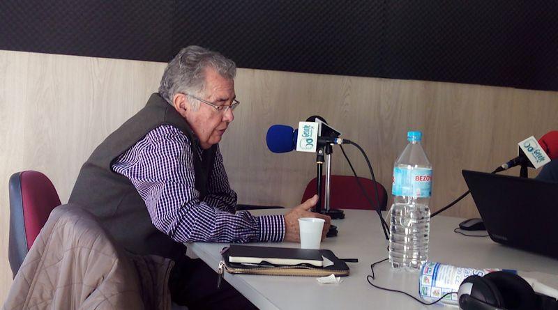 Un momento de la charla mantenida con Alberto Guerrero, Jueves 15 de Octubre de 2015