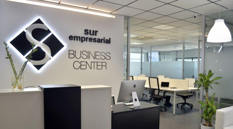 Instalaciones de Sur Empresarial Business Center en Getafe. Foto_ surempresarial.com