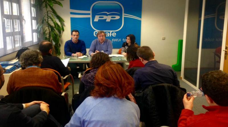 foto prensa de PP de Getafe