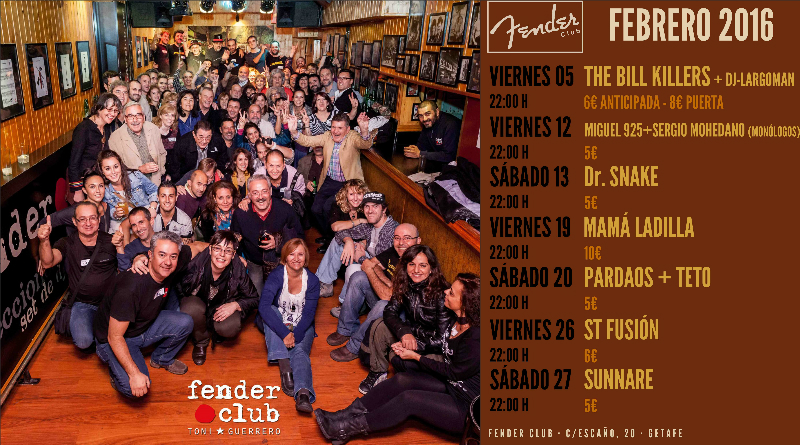 Fotos Fender Club de Getafe