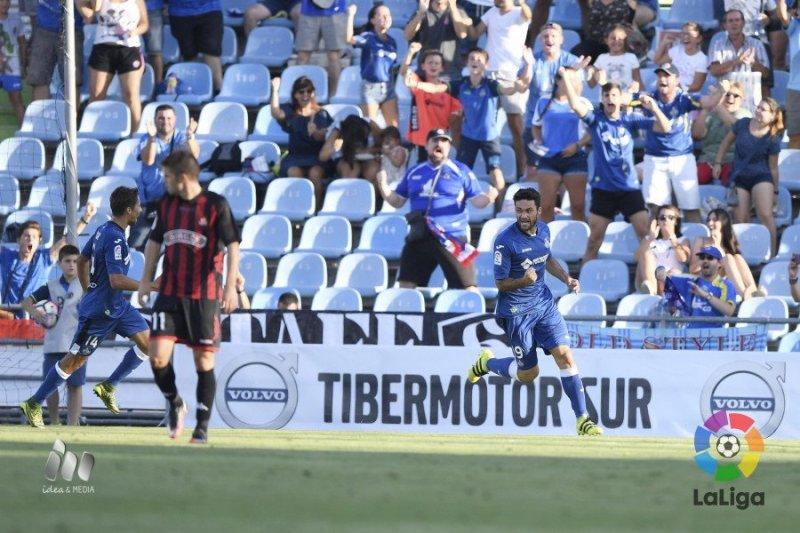 Gol de Jorge Molina #GetafeReus Foto_LaLiga