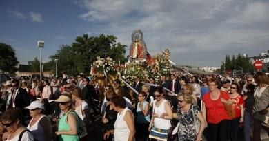 La Virgen de los Ángeles y la congregación que la venera en Getafe Radio