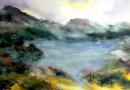 Pablo Reviriego inaugura su muestra Los colores del agua