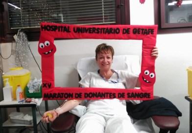 El Hospital celebra la semana de la donación de sangre del 14 al 20 de junio