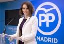 Isabel Díaz Ayuso es la candidata del PP a la presidencia de la Comunidad de Madrid