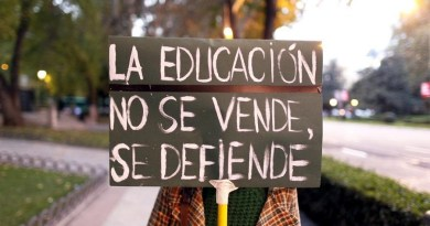 Pido la palabra por la educación