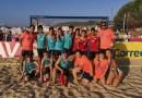 El Getasur infantil masculino se proclama campeón de la Liga madrileña de balonmano playa