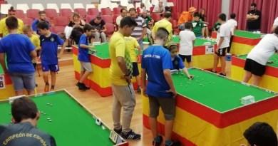 El Campeonato de España de Fútbol Chapas se disputó en Getafe