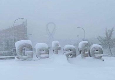 Getafe bate su récord de temperatura mínima con -12ºC