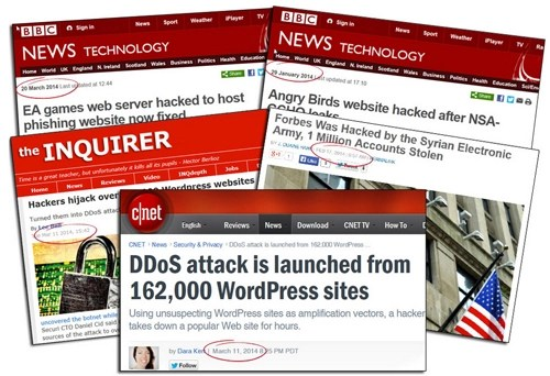Thousands of websites and blogs are attacked every year! Could your website be next?