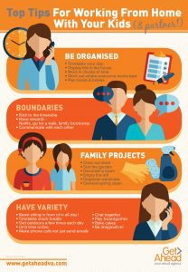 Tips from working from home with your kids