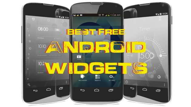 Best Free Android Widgets app