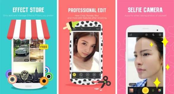 Camera360 Ultimate android camera app