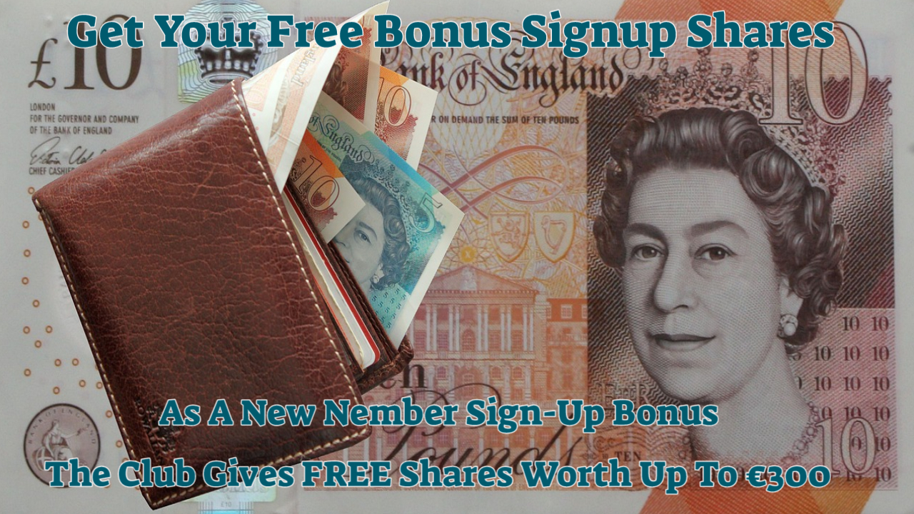 FREE shares, worth up to €300